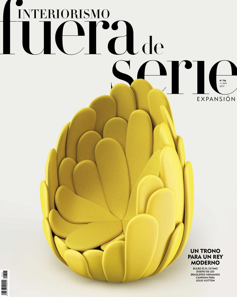 Fuera de serie weekly magazine of El Mundo. May 2020