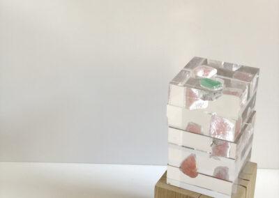 mineral stones sculpture
